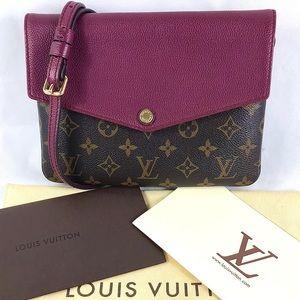💎LIKE NEW💎 twinset Louis Vuitton crossbody